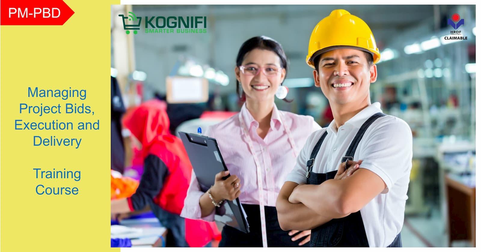 Kognifi.PM-PBD. mengurus bidaan projek, pelaksanaan dan penghantaran. kursus latihan