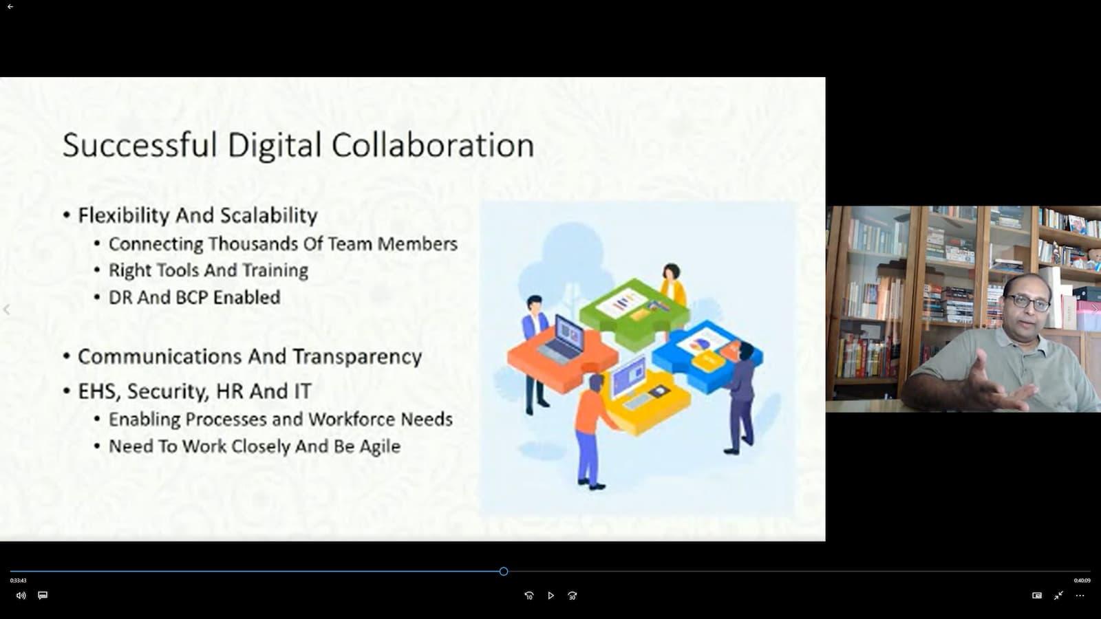 Kelas maya pembelajaran dalam talian jauh oleh Kognifi